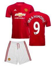 Adidas Zlatan Ibrahimovic #9 Manchester United Football Soccer Jersey Youth M 22