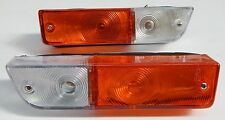 FRONT INDICATOR PARK LIGHTS LAMPS 2PC FIT DATSUN 1600 510 NISSAN BLUEBIRD SSS