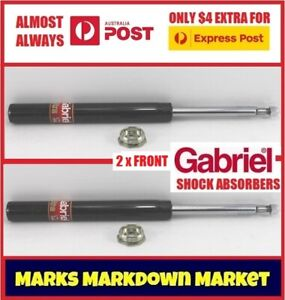 Front Gabriel Ultra Strut Cartridge Shock Absorbers for Toyota Camry SV20 21 22
