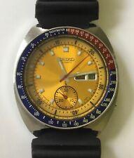 "1975 Seiko 6139-6005 ""Pogue"" Vintage Chronograph, Pepsi Dial, Diver Band"
