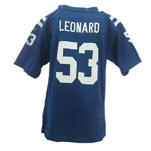 Indianapolis Colts Darius Leonard NFL Nike Children's Kids Youth Size Jersey New