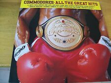 COMMODORES ALL GREAT HITS  LP MOTOWN ITALY MI9NT-