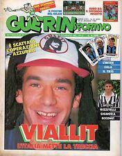 GUERIN SPORTIVO=N°21 1988=VIALLI=PAOLO MALDINI=COPPA UEFA LA FINALE