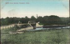 Pocasset Cape Cod MA State Road Bridge c1910 Postcard