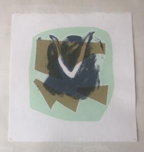 "MATTHEW HILTON b1948 Limited Ed SCREENPRINT ""Jugs"" - Green ed 5/30 Curwen 1994"