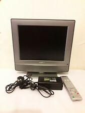 """Sony Bravia KDL-15G2000 15"""" LCD  TV PC Monitor Freeview DVB 16.5V 34A + Remote"""