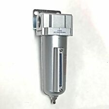 """3/4"""" Compressed Air In Line Moisture & Water Filter Trap F706N Compressor New"""