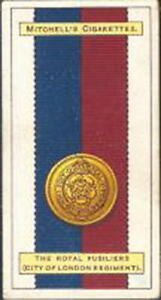 Mitchell - Army Ribbons & Buttons - 14 - The Royal Fusiliers (City of London Reg