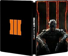 Call of duty black ops iii 3 steelbook case PS3 PS4 & Xbox One * neuf * no game