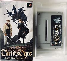 Tactics Ogre let us cling together - Super Famicom SNES - NTSC-J JAP