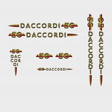 Daccordi 50th Anniversary Bicycle Decals, Transfers, Stickers n.1