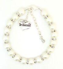 Personalised Wedding Favour Bridesmaid Bride Charm Bracelet Extender Chain