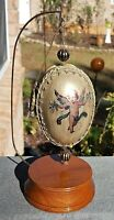 Vatican Library Collection CHERUB ANGEL OVAL ORNAMENT with STAND Christianity