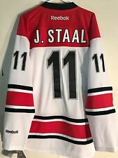 Reebok Premier NHL Jersey Carolina Hurricanes Jordan Staal White sz L