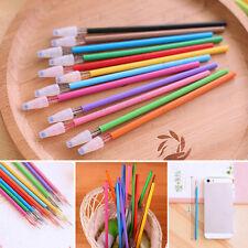 12 unid. / LOT Creative Pen Refills Colorful CROSS TIPO DIAMOND Gel oficina