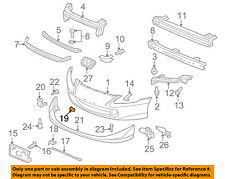 HONDA OEM 06-08 Ridgeline Front Bumper-Hole Plug 71146SJCA00ZA