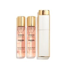 CHANEL COCO MADEMOISELLE TWIST AND SPRAY EAU DE PARFUM 3X20ML COMPLETO