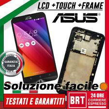 LCD DISPLAY+TOUCH SCREEN+FRAME ORIGINALE PER ASUS ZENFONE 2 LASER ZE550KL Z00LD