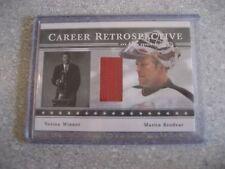 Martin Brodeur 2003/04 ITG Signature Series Career Retrospective Jersey card