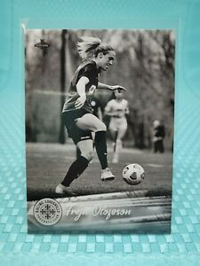 2021 21 Parkside NWSL Freja Olofsson Black and White SP Parallel #63 (1 of 700)