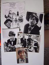Patrick Troughton Doctor Who Signed Autograph Postcard, 3 Photos & GalaxyCon Art