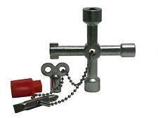 Schaltschrank-Schlüssel Vierkantschlüssel Dreikantschlüssel Heizungsschlüssel