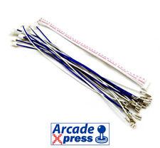Zero Delay 10 cable extra set + 5pin cable Sanwa Jlf Joystick USB Arcade 4.8mm
