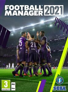 Football Manager 2021 (PC) In Stock Now Brand New & Sealed Free UK P&P