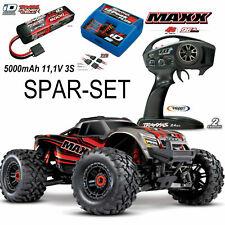 Traxxas 89076-4 Maxx 4x4 Brushless Monster Truck RTR 1/10 TRX 3s combinata Rot