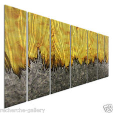 Modern Wall Art Justin Strom Metal Wall Sculpture Abstract Artwork Inferno