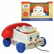 Fisher-Price Classic Chatter Telephone - Brand New Retro Toy