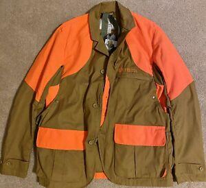 Beretta Upland Hunting Jacket, Light Brown/Orange, Large (see description)
