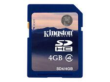 SDHC 4gb Kingston Sd4/4gb klasse 4