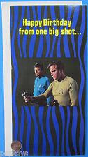 Activity BIRTHDAY CARD '76 vintage Kirk PHASER 5x10 inch closed - Star Trek