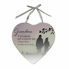 Reflections of The Heart Grandma Mirror Plaque 61414 Grandmother Granny Special