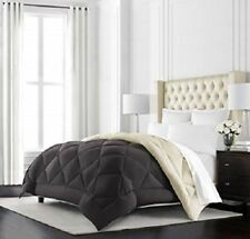 Beckham Hotel Collection Goose Down Alternative Reversible Comforter - King CalK