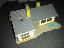 (99) Vollmer H0 Wohnhaus Bungalow mit Teich,  Art.Nr. 3712