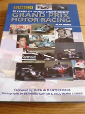 AUTOCOURSE 50 YEARS OF THE WORLD CHAMPIONSHIP MOTOR RACING CAR BOOK jm