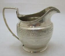Antique Georgian Sterling silver milk jug, 152 grams, 1806