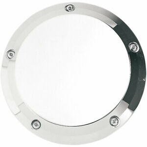 Joker Machine Chrome Smooth Derby Cover for 1999-2017 Harley Twin Cams