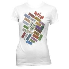 THE BEATLES TICKETS STACKED JUNIOR FIT T-SHIRT/XL
