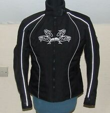FRANK THOMAS Lady Rider Textile Motorcycle Jacket LS 14/16