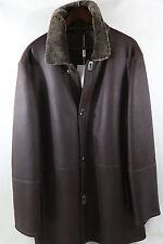 Salvatore Ferragamo Shearling Coat Jacket Size 56/46