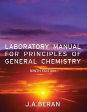 Principles of General Chemistry by Jo Allan Beran (2010, Paperback, Lab Manual)