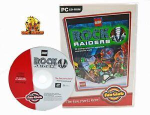 LEGO Rock Raiders PC Game Action Adventure Children Family Kids