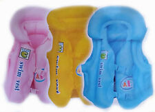 Inflatable Child Swimming Vest Floating Safe Jacket for Learning 3 Air Chambers