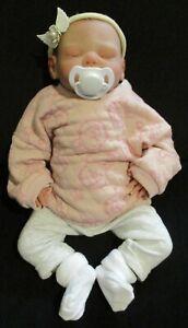 reborn doll painted hair Anna