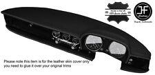 Bianco Stitch Cover in Pelle Dashboard Dash si adatta Alfa Romeo SPIDER Duetto classic