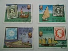 1979 Chad Death Centenary of Sir Rowland Hill used Mi.874/7. T22