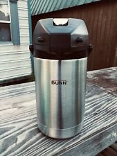 Bunn 32125 Airpot Lever-Action 2.5L Coffee Hot Beverage Dispenser Stainless